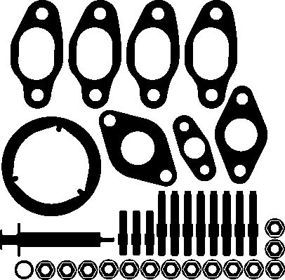 SET MONTAJ TURBOCOMPRESOR ELRING 704040