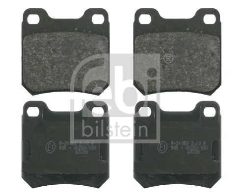 SET PLACUTE FRANA FRANA DISC FEBI BILSTEIN 16133