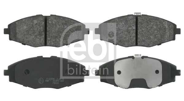 SET PLACUTE FRANA FRANA DISC FEBI BILSTEIN 16341