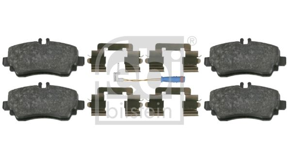 SET PLACUTE FRANA FRANA DISC FEBI BILSTEIN 16439
