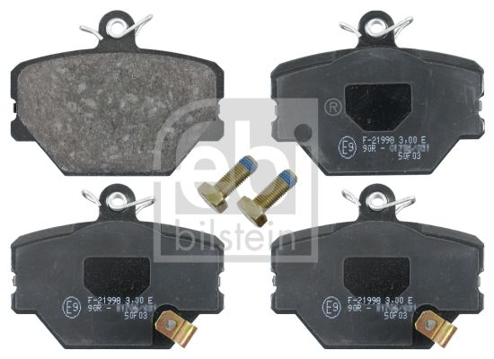 SET PLACUTE FRANA FRANA DISC FEBI BILSTEIN 16485