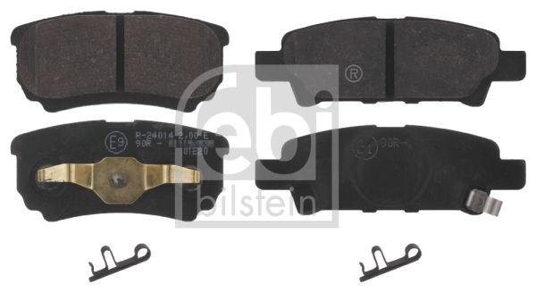 SET PLACUTE FRANA FRANA DISC FEBI BILSTEIN 16774