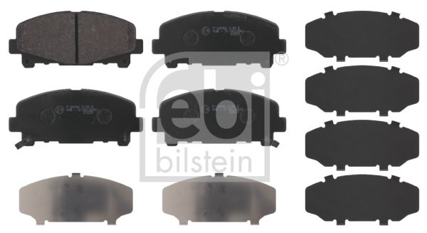 SET PLACUTE FRANA FRANA DISC FEBI BILSTEIN 16792