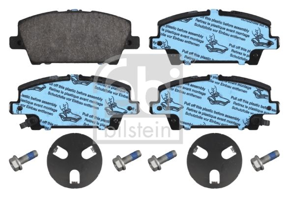 SET PLACUTE FRANA FRANA DISC FEBI BILSTEIN 16802