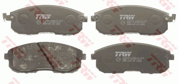 SET PLACUTE FRANA FRANA DISC TRW GDB1003