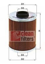 FILTRU ULEI CLEAN FILTERS ML 490