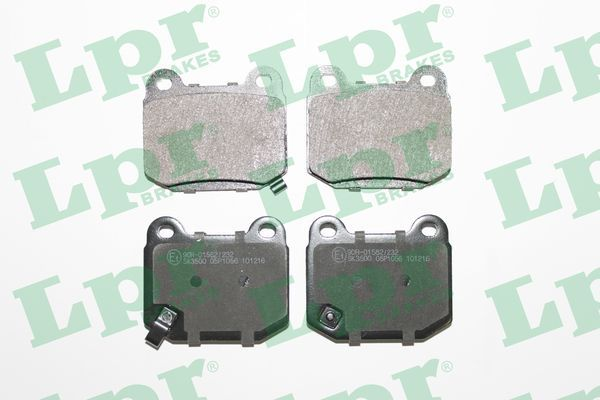 SET PLACUTE FRANA FRANA DISC LPR 05P1056