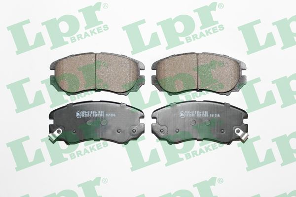 SET PLACUTE FRANA FRANA DISC LPR 05P1369