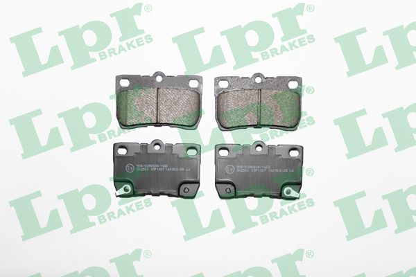 SET PLACUTE FRANA FRANA DISC LPR 05P1407