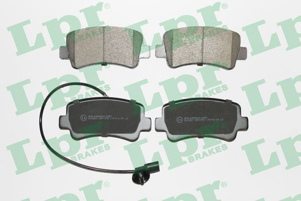 SET PLACUTE FRANA FRANA DISC LPR 05P1578