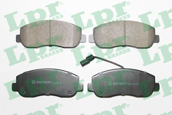 SET PLACUTE FRANA FRANA DISC LPR 05P1579