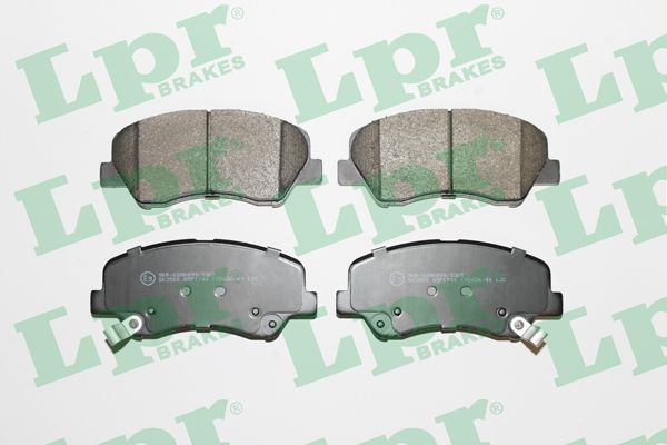SET PLACUTE FRANA FRANA DISC LPR 05P1744