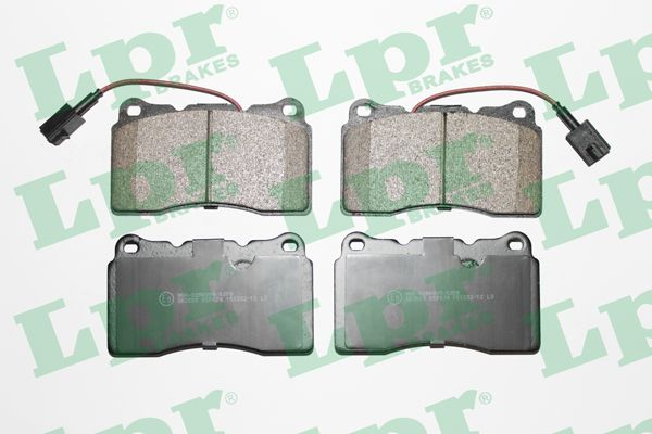 SET PLACUTE FRANA FRANA DISC LPR 05P674
