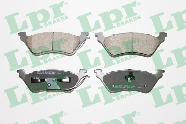 SET PLACUTE FRANA FRANA DISC LPR 05P912