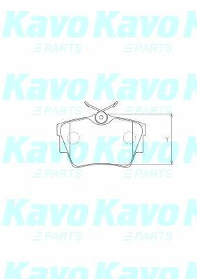 SET PLACUTE FRANA FRANA DISC KAVO PARTS BP-6608