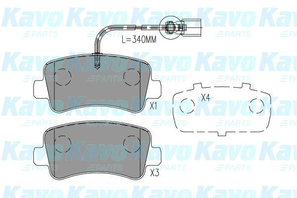 SET PLACUTE FRANA FRANA DISC KAVO PARTS BP-6629