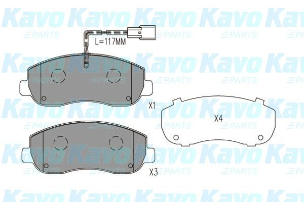 SET PLACUTE FRANA FRANA DISC KAVO PARTS BP-6635