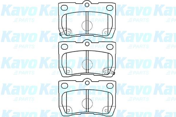 SET PLACUTE FRANA FRANA DISC KAVO PARTS BP-9099
