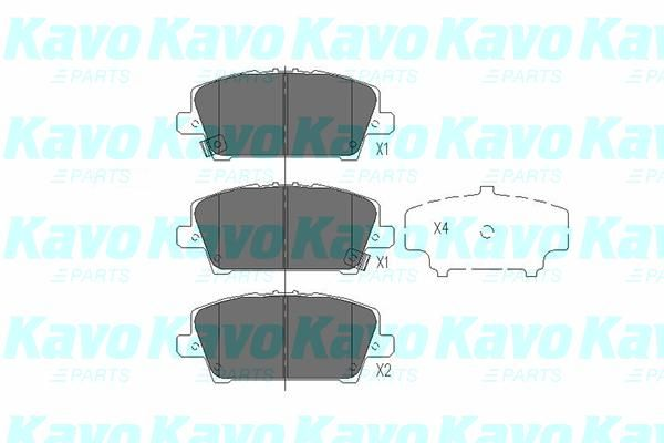 SET PLACUTE FRANA FRANA DISC KAVO PARTS KBP-2013