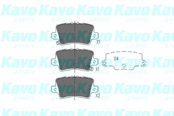 SET PLACUTE FRANA FRANA DISC KAVO PARTS KBP-2014