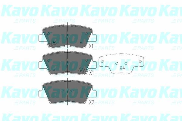 SET PLACUTE FRANA FRANA DISC KAVO PARTS KBP-3025
