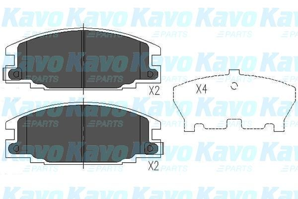 SET PLACUTE FRANA FRANA DISC KAVO PARTS KBP-3503