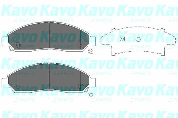 SET PLACUTE FRANA FRANA DISC KAVO PARTS KBP-3513