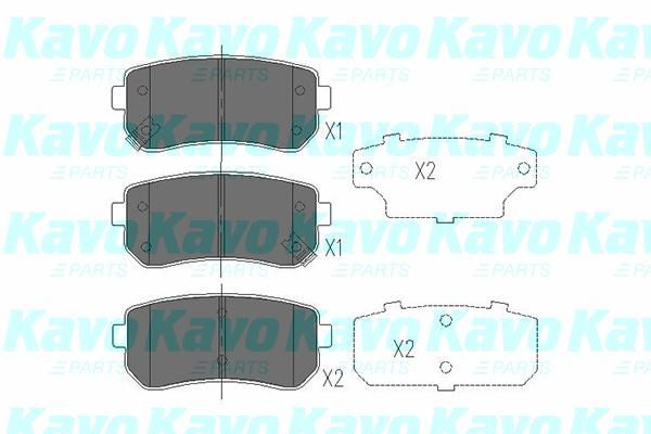 SET PLACUTE FRANA FRANA DISC KAVO PARTS KBP-4007