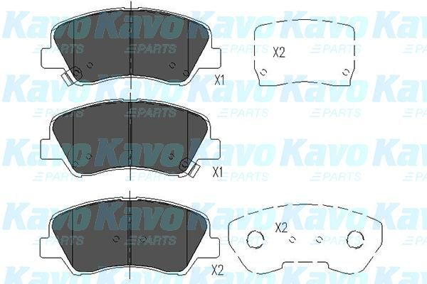 SET PLACUTE FRANA FRANA DISC KAVO PARTS KBP-4023