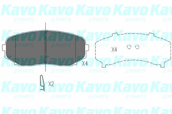 SET PLACUTE FRANA FRANA DISC KAVO PARTS KBP-4558