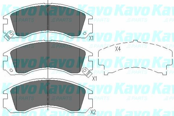SET PLACUTE FRANA FRANA DISC KAVO PARTS KBP-5503