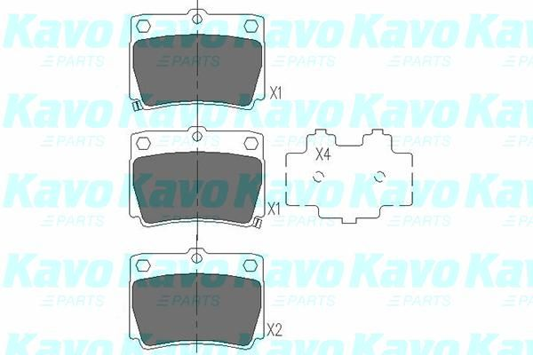 SET PLACUTE FRANA FRANA DISC KAVO PARTS KBP-5512