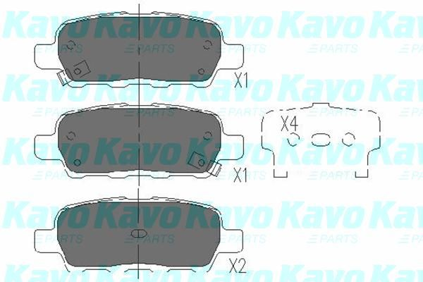 SET PLACUTE FRANA FRANA DISC KAVO PARTS KBP-6517