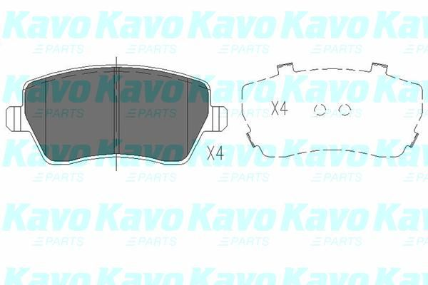 SET PLACUTE FRANA FRANA DISC KAVO PARTS KBP-6559