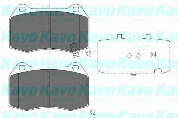 SET PLACUTE FRANA FRANA DISC KAVO PARTS KBP-6561