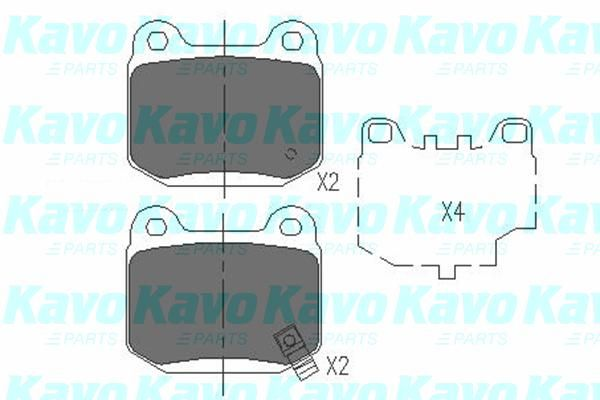 SET PLACUTE FRANA FRANA DISC KAVO PARTS KBP-6562