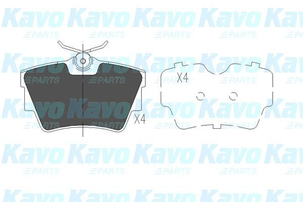 SET PLACUTE FRANA FRANA DISC KAVO PARTS KBP-6604