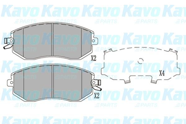 SET PLACUTE FRANA FRANA DISC KAVO PARTS KBP-8025
