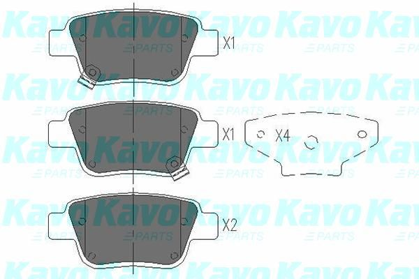 SET PLACUTE FRANA FRANA DISC KAVO PARTS KBP-9019