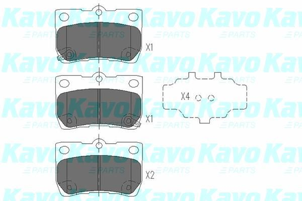 SET PLACUTE FRANA FRANA DISC KAVO PARTS KBP-9083