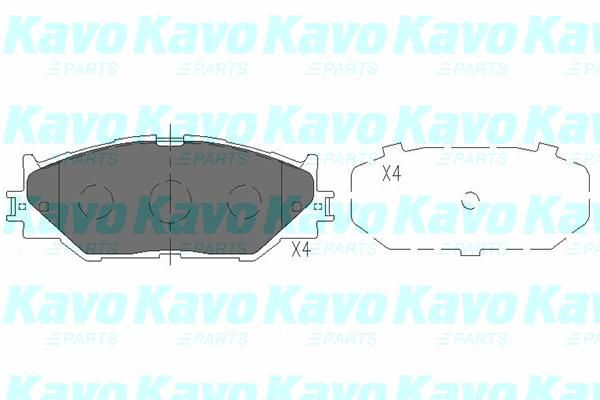 SET PLACUTE FRANA FRANA DISC KAVO PARTS KBP-9094