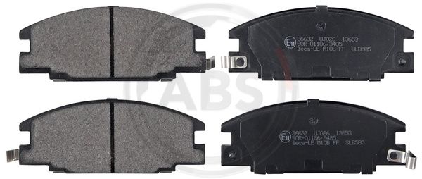 SET PLACUTE FRANA FRANA DISC A.B.S. 36632