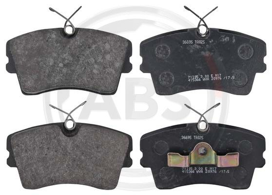 SET PLACUTE FRANA FRANA DISC A.B.S. 36695
