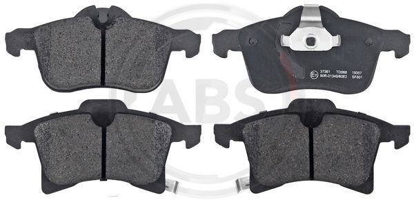 SET PLACUTE FRANA FRANA DISC A.B.S. 37361