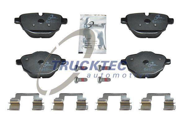 SET PLACUTE FRANA FRANA DISC TRUCKTEC AUTOMOTIVE 08.35.049