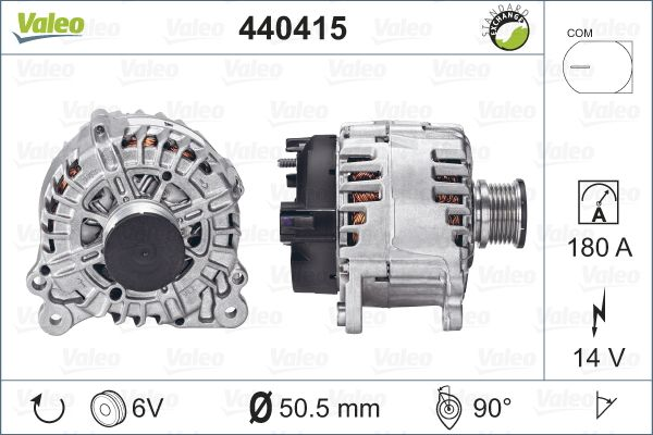 GENERATOR / ALTERNATOR VALEO 440415