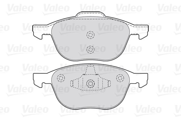 SET PLACUTE FRANA FRANA DISC VALEO 301649