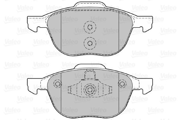 SET PLACUTE FRANA FRANA DISC VALEO 601367