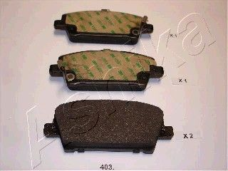 SET PLACUTE FRANA FRANA DISC ASHIKA 50-04-403