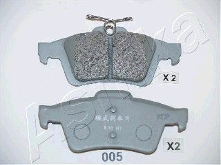 SET PLACUTE FRANA FRANA DISC ASHIKA 51-00-005